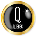 Q For Quebec by Bigalbaloo Stock