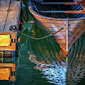 Quiet Afternoon On The Dock by Rick Berk