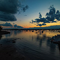 Quiet Evening Sunset by Jeff Folger