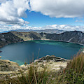 Quilotoa Crater Lake by Kaitlyn Casso