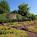 Quilt Garden In Asheville North Carolina by Jill Lang