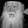 Rabbi Yehuda Zev Segal - Study In Black And White by Doc Braham
