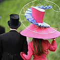 Racegoers Attend Ladies Day At Royal by Dan Kitwood