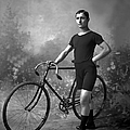 Racing Cyclist by Reinhold Thiele