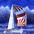Racing The Storm by Douglas Castleman