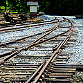Railroad Siding Tracks by Paul W Faust - Impressions of Light