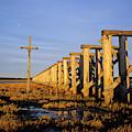 Railroad Trestle by Robert Potts