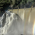 Rainbow At Clementine Dam by Jack Peterson