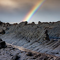 Rainbow On The Rocks by Framing Places