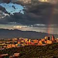 Rainbow Over Tucson by Chance Kafka