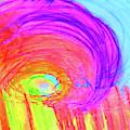 Rainbow Shell by Karen Szybalski