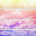 Rainbow Zig Zag by Angie Tirado