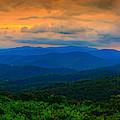 Range View 4 To 1 Panorama 2 by Raymond Salani III
