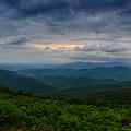 Range View In Shenandoah National Park Storm by Raymond Salani III