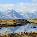 Rannoch Moor In Winter by Victor Lord Denovan