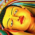 Reclining Buddha by Dominic Piperata