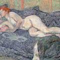 Reclining Nude, 1897 by Henri de Toulouse-Lautrec