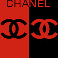 Red And Black Chanel by Dan Sproul