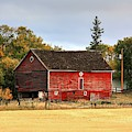 Red Barn Fall by David Matthews