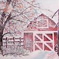 Red Barn by Ken Farnsworth