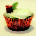Red Cupcake by Toula Mavridou-Messer