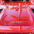 Red Ferrari by Brian Jannsen