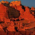 Red Hoodoos In Goblin Valley Utah by Dave Welling