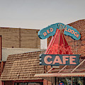 Red Lodge Cafe Montana by Edward Fielding