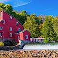 Red Mill Photograph by Louis Dallara