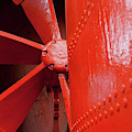 Red Propeller II by Helen Northcott