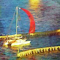 Red Sail Flying by Alice Gipson