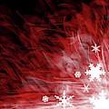 Red Snowflake by Kris Haney Sirk Designs Ltd