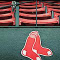 Red Sox Fenway Park Seats by Joann Vitali