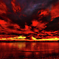 Red Sunset by Shane Bechler