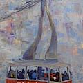 Red Tram by Paul Winter