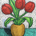 Red Tulips by Karla Beatty