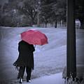 Red Umbrella by Jack Wilson
