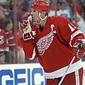 Red Wings V Hurricanes by Dave Sandford