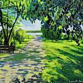 Reflection By The Lake by Lynn Hansen