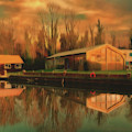 Reflections On The Wey by Leigh Kemp