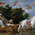 Reinaldo Llevado En Suenos A Las Islas Afortunadas   by Teniers  David