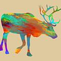 Reindeer Wall Art by David Millenheft