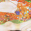 Remastered Art Water Serpents II By Gustav Klimt 20190302 Long by Wingsdomain Art and Photography