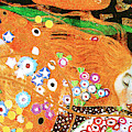 Remastered Art Water Serpents II By Gustav Klimt 20190302 V3 by Wingsdomain Art and Photography