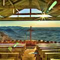 Resplendent Light Pretty Place Chapel Camp Greenville South Carolina Landscape Art by Reid Callaway