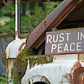 Rest In Rusty Peace by Bruce Gourley