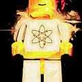 Retro Atomic Spaceman by Bob Orsillo