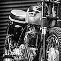 Retro Triumph Monochrome by Tim Gainey