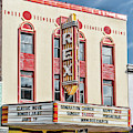 Rex Theatre Marquee by Sharon Popek
