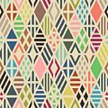 Rhombuses Seamless Pattern. Geometric by Ilya Bolotov
